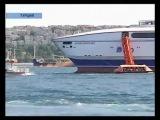 Из-за морских учений Турция заблокировала пролив Босфор
